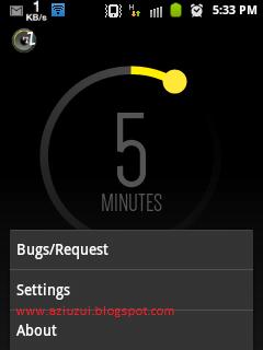 Off berbagai aplikasi di Android dengan Otomatis
