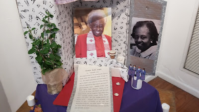 John Malveaux: For the past twenty-five years, Danellen was part of the Watts Tower Arts Center.  I was surprised and deeply moved to see a memorial [9-24-16]