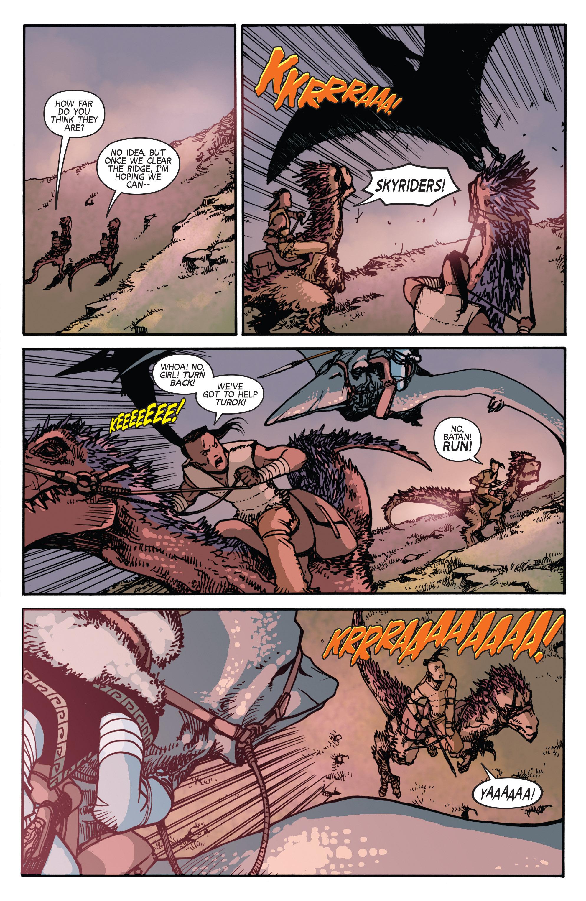 Read online Turok: Dinosaur Hunter (2014) comic -  Issue # _TPB 2 - 61