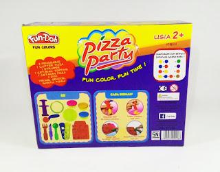 Fun-Doh Pizza Party, fun doh indonesia, fun doh surabaya, distributor fun doh surabaya, grosir fun doh surabaya, jual fun doh lengkap, mainan anak edukatif, mainan lilin fun doh, mainan anak perempuan