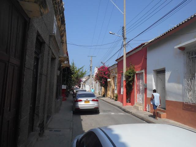 Getsemani in the sun, Cartagena