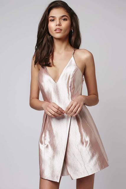 topshop pink satin dress, satin pink dress,