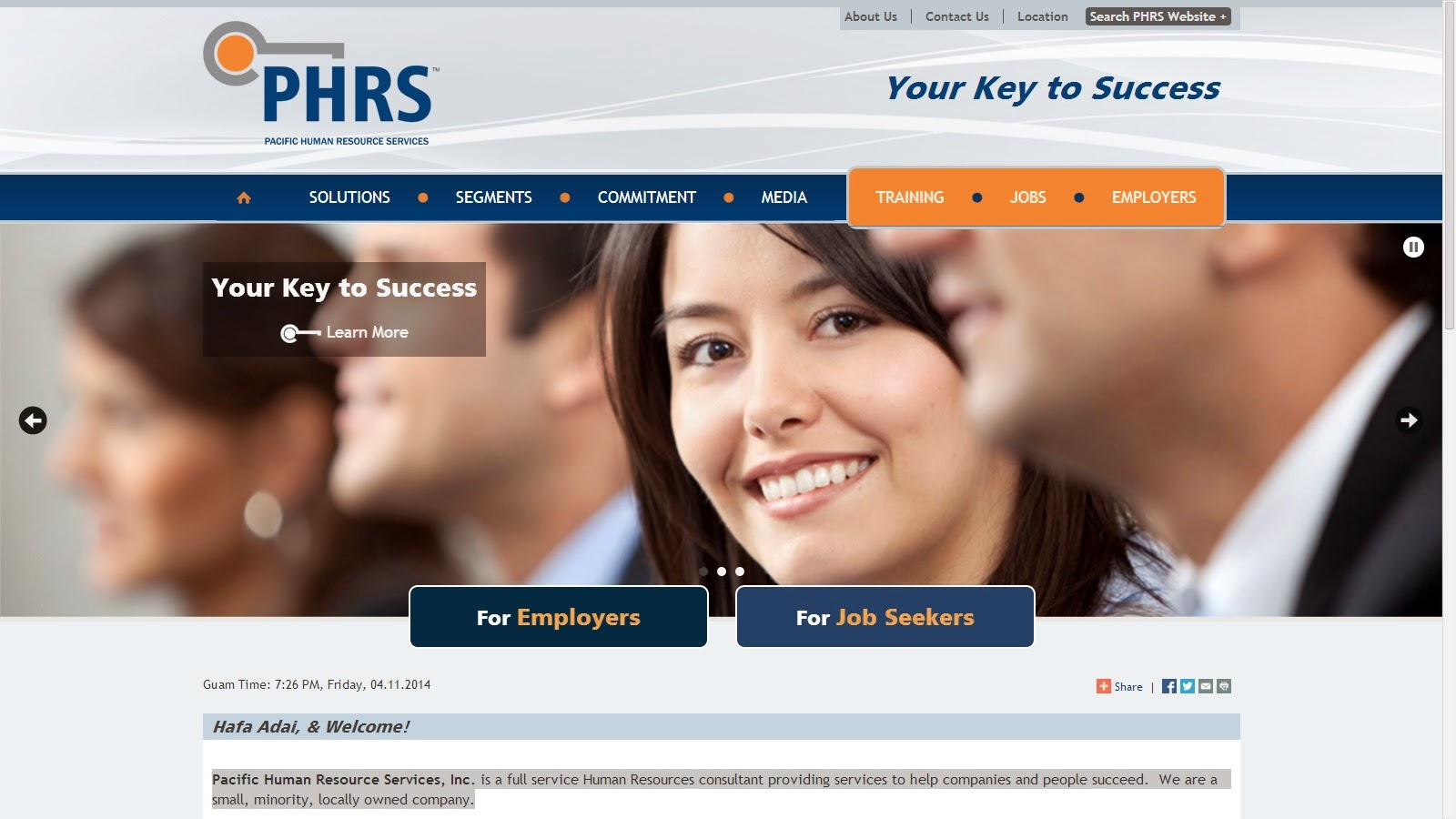 Welcome to PHRS's Official Blog. Looking for our website instead? Click on the image below.
