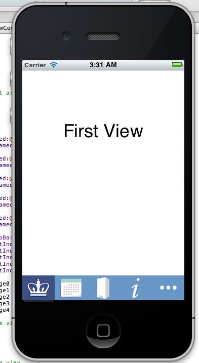 Kurry Tran's Blog: iOS 5 Tutorial: Creating a Custom Tab ...
