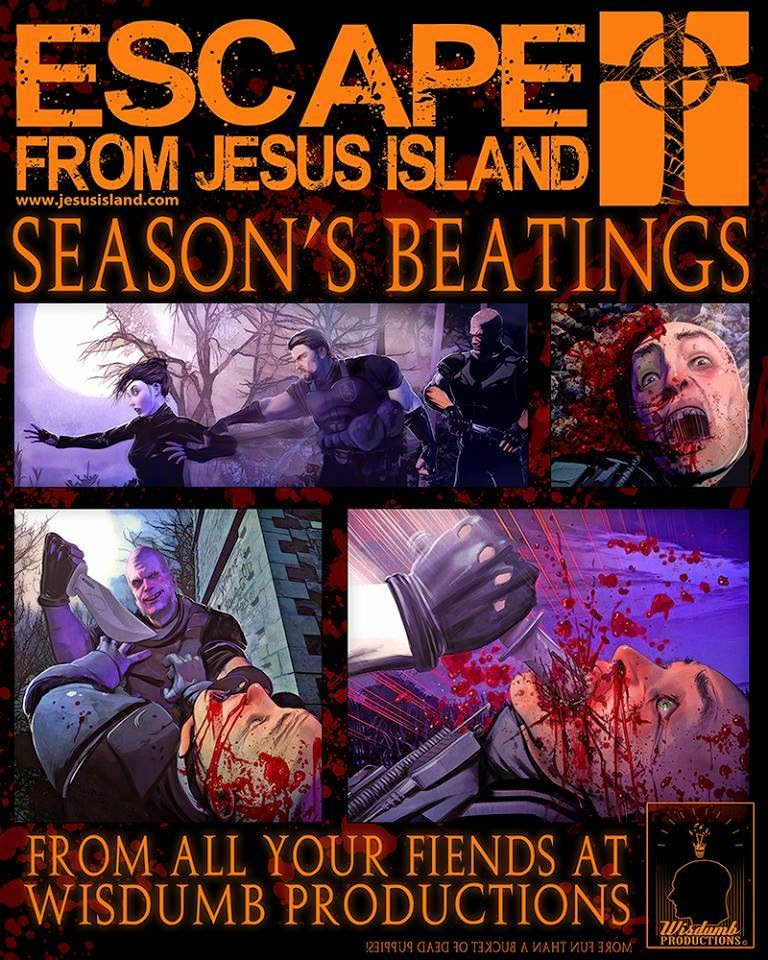 Escape From Jesus Island Art