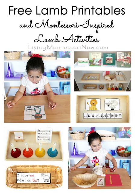 Free Lamb Printables and Montessori-Inspired Lamb Activities