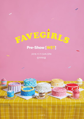 [DEBUT] Prepárate para FAVE GIRLS 페이브 걸즈