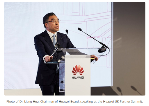 Huawei hosts partner summit in London