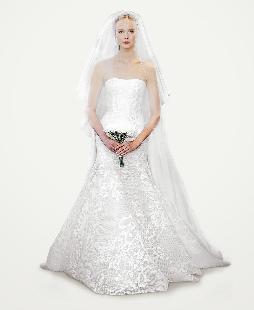 2015fashion: Carolina Herrera Wedding Dresses 2014,2014