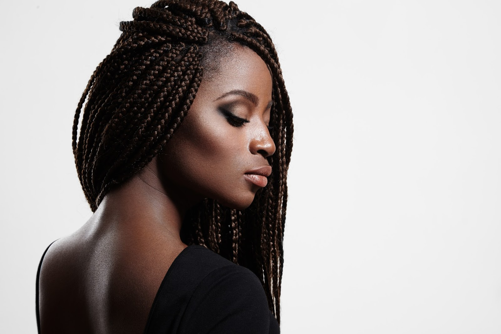 Black Hairstyles With Side Braids: How To Wash Braided Hair, The Right Way