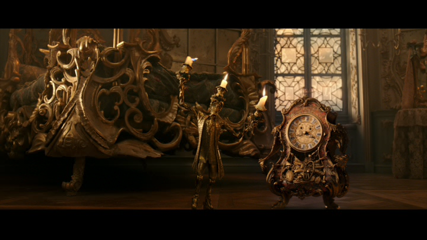 While Still Pretty Cool Theres No Denying The Nightmare Fuel That Is Live Action Lumiere And Cogsworth