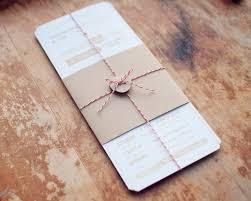 Packaging Wedding Invitations