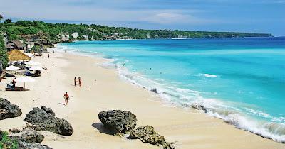 Pantai Dreamland, Tempat Wisata Pantai Pasir Putih yang Indah di Bali