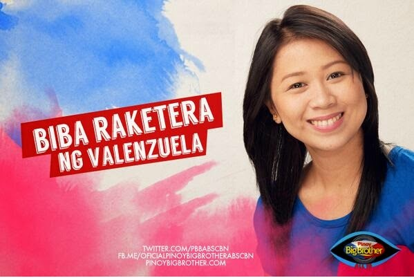"Pinoy Big Brother All In Housemates - Cess Mae Visitacion ""Biba Raketera"""