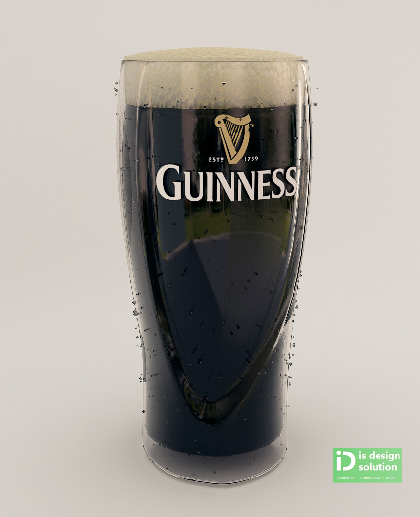 IS DESIGN SOLUTION: Guinness Snow Globe