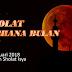 Yuk  Sholat GERHANA Bulan Berjamaah di Masjid dan Musholla