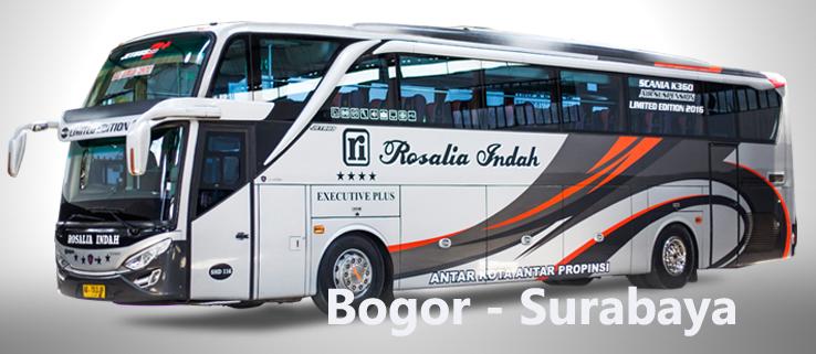 Harga Tiket Bus Rosalia Indah Bogor Surabaya E