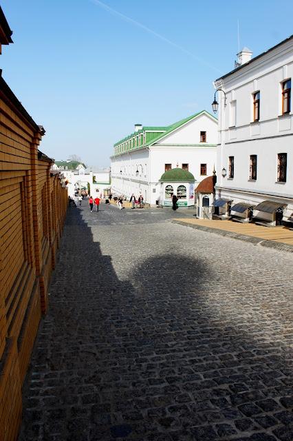 Брусчатка Ближнепечерской улицы