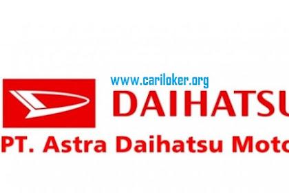 Informasi Terbaru PT Astra Daihatsu Motor (ADM) Untuk Posisi Operator Produksi