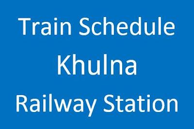 Khulna Station Train Schedule