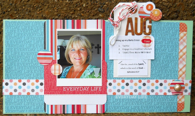 Ephesians 6:17 Scrapbooking Faith