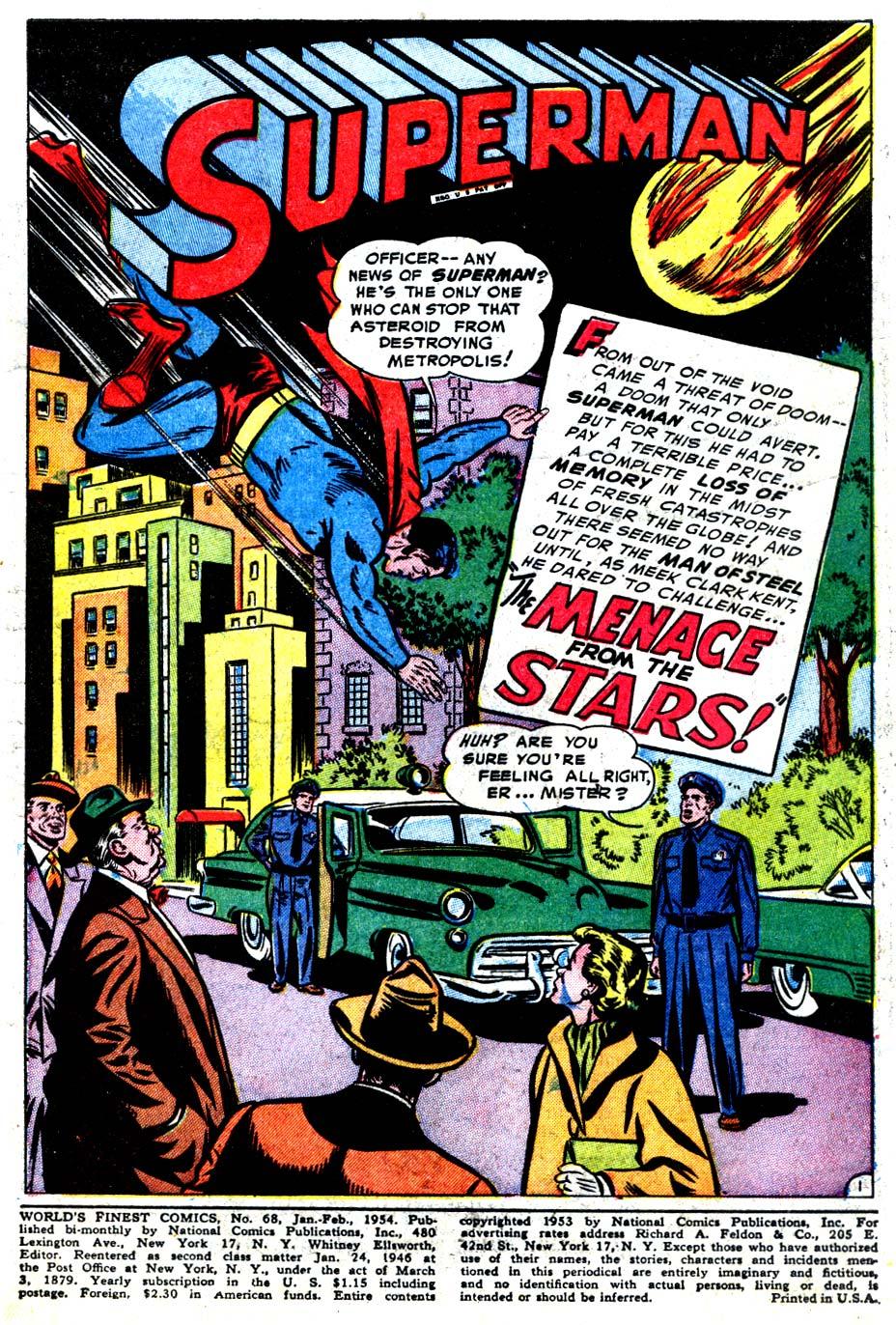 Read online World's Finest Comics comic -  Issue #68 - 3