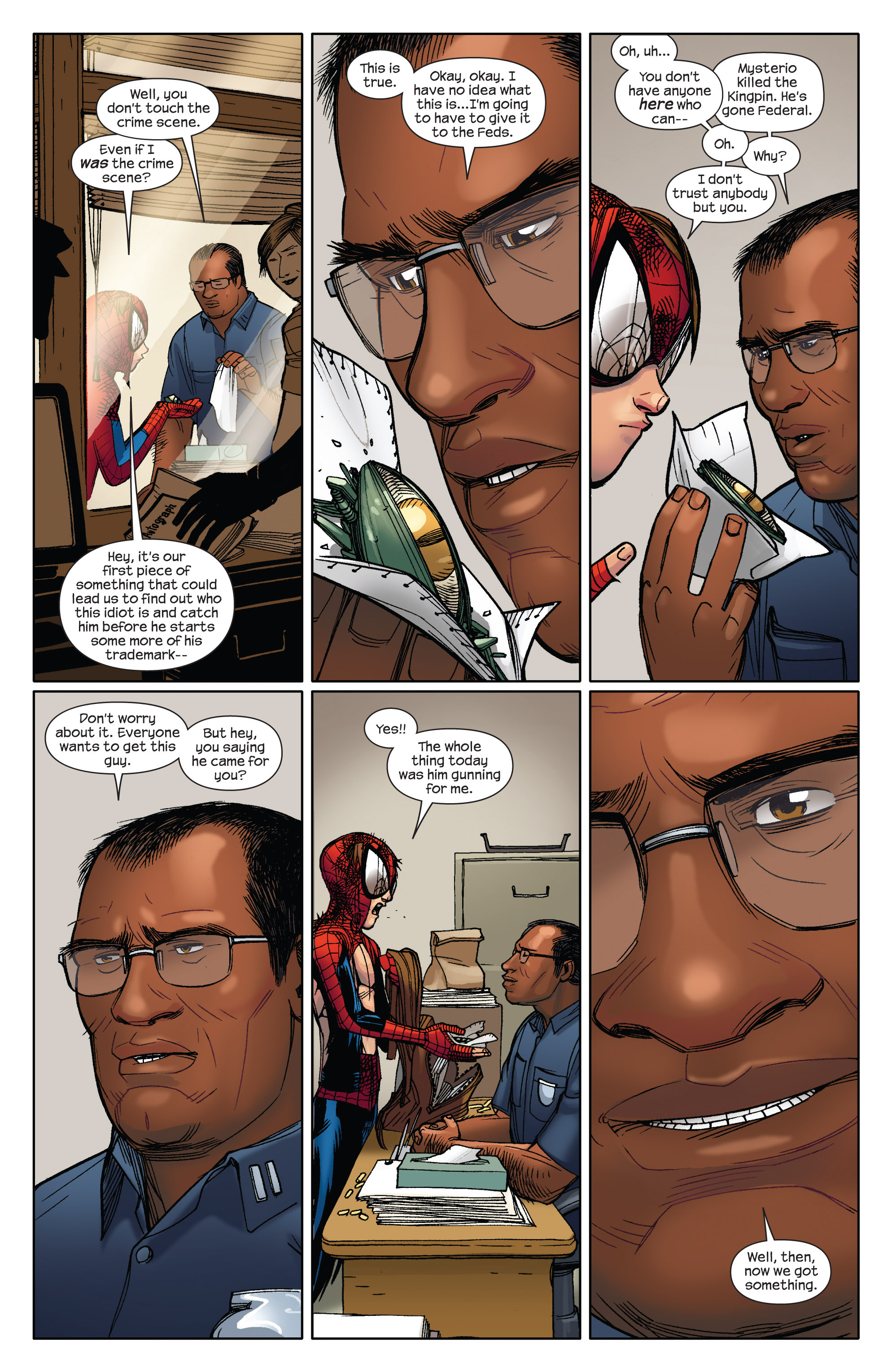 Read online Ultimate Spider-Man (2009) comic -  Issue #5 - 16