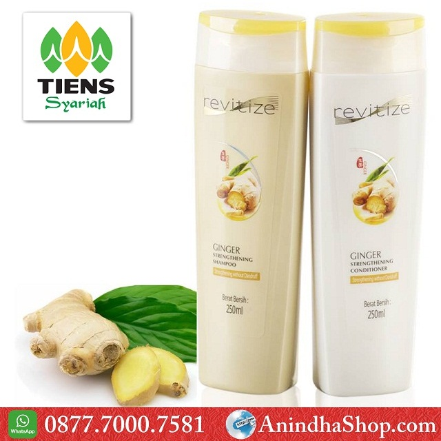 Shampoo & Conditioner Extract Jahe