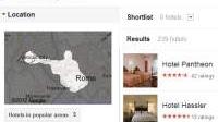 Il Trova Hotel Google per cercare alberghi in base al prezzo e alla zona