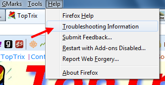 troubleshoot-firefox