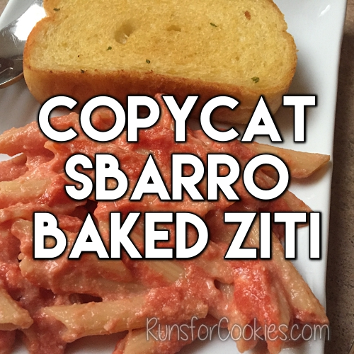 Copycat Sbarro Baked Ziti