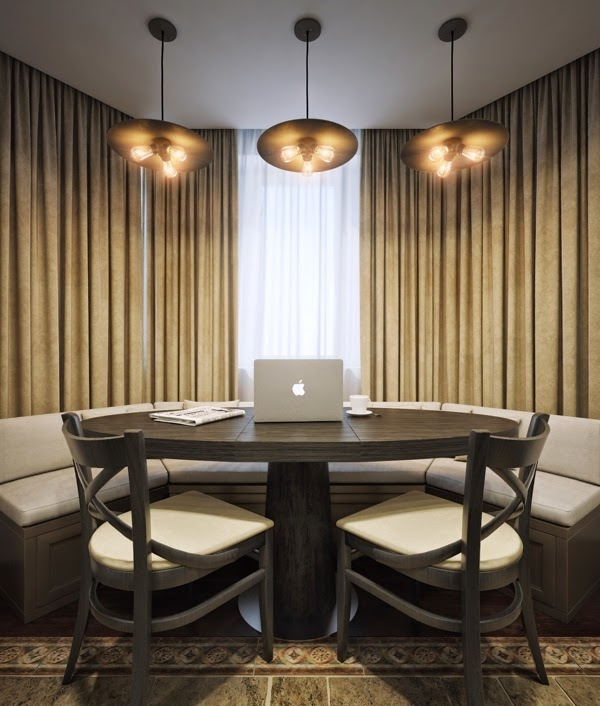 Small apartment interior design in Moscow - 60 sq.m