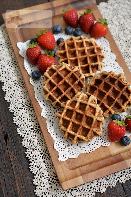 eggless vegan wholemeal waffles