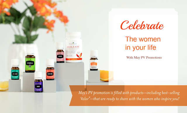 Essential oils promotions in May