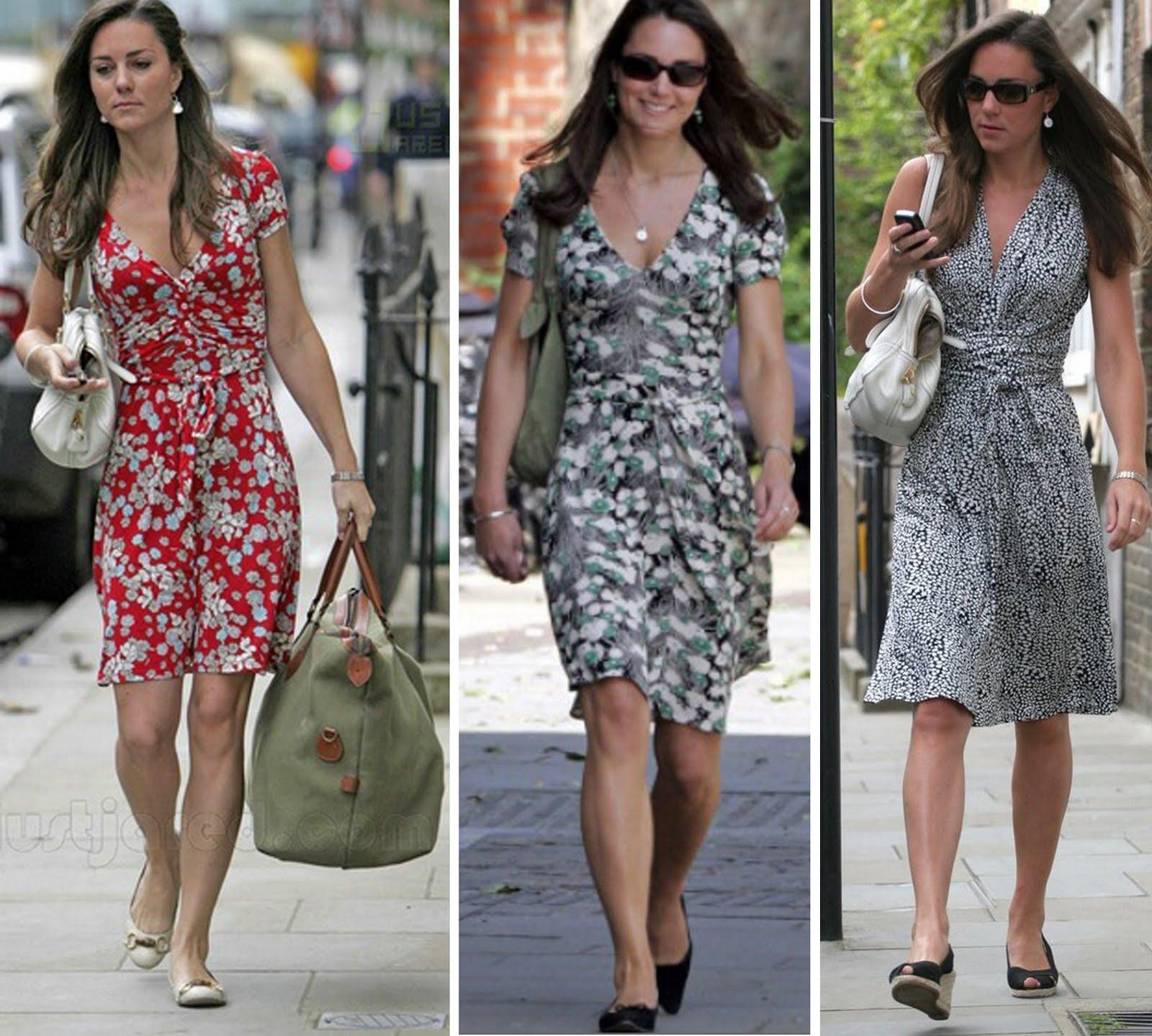 13++ Princesa Kate Middleton Roupas
