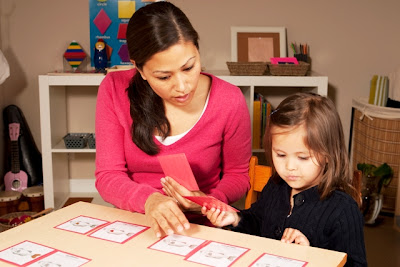NAMC developing vocabulary Montessori nomenclature cards