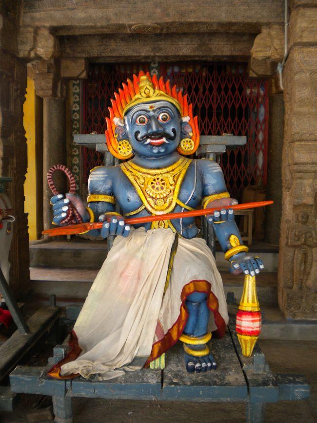 Lord Shiva's Yama Vahanam During Procession