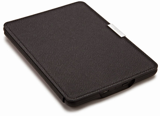 Protect your Paperwhite with Amazon's Leather Cover for Your Kindle Paperwhite | Kindletrends