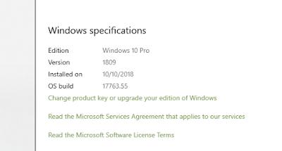 Hướng dẫn Activate Windows 10 redstone 5 UPDATE 1809 100% thành công mà không dùng phần mềm