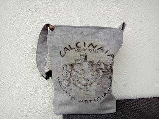 torebki szyte na zamówienie worek płótno gruby splot hand made