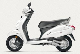 Honda Activa 4g White Color