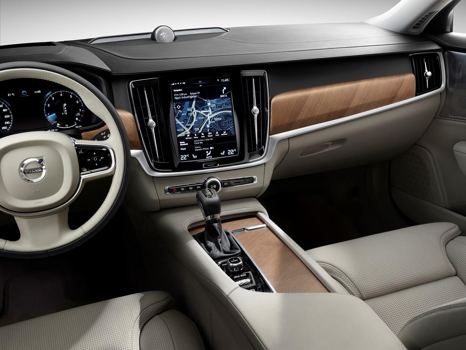 NEW%2BVOLVO%2BS90 170073 Interior cockpit Το νέο Volvo S90 έρχεται και βάζει φωτιά στον ανταγωνισμό premium sedan, Volvo, Volvo Cars, Volvo S90
