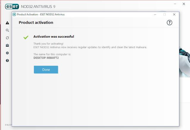 Cara Mendapatkan Serial Number Antivirus Eset Gratis 6