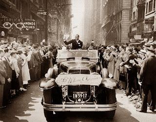 El gran desfile por la Quinta Avenida de Nueva York.