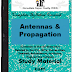Antennas and Wave Propagation (AWP) PDF Study Materials cum Notes, E-Books Free Download
