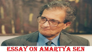 Essay on Amartya Sen