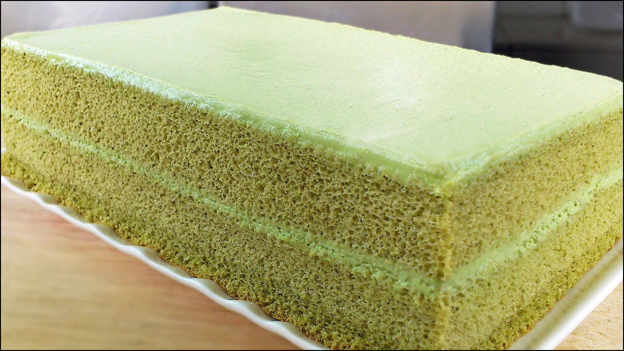 If There S Baking Soda Powder In The Recipe Delicate Flavour Would Be Compromised Hence Green Tea Cake Should Made Without Any