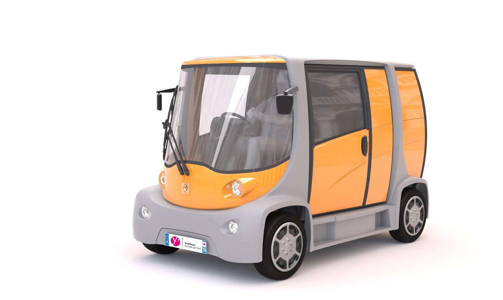 voiture du futur des v hicules lectriques innovants made in yvelines voir au salon de gen ve. Black Bedroom Furniture Sets. Home Design Ideas