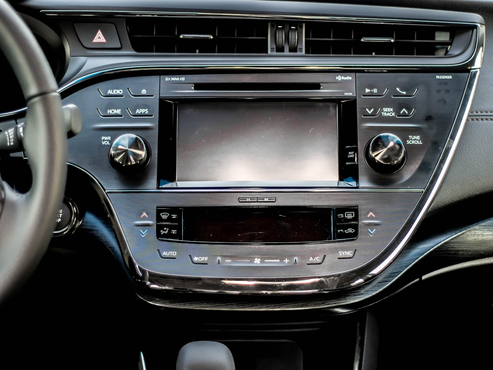 full size sedan interior