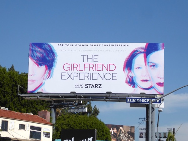 Girlfriend Experience season 2 billboard